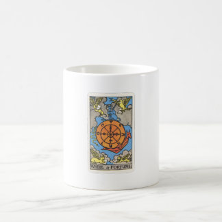 Tarot wheel of the fate Wheel OF Fortune Coffee Mug