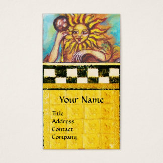 TAROTS OF THE LOST SHADOWS 19 / THE SUN BUSINESS CARD