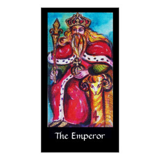 TAROTS OF THE LOST SHADOWS /THE EMPEROR POSTER