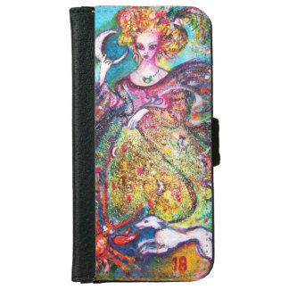 TAROTS OF THE LOST SHADOWS /THE MOON LADY iPhone 6 WALLET CASE
