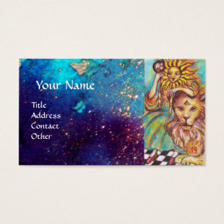 TAROTS OF THE LOST SHADOWS / THE SUN BUSINESS CARD