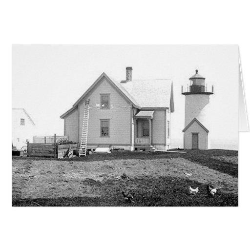 Tarpaulin Cove Lighthouse Cards