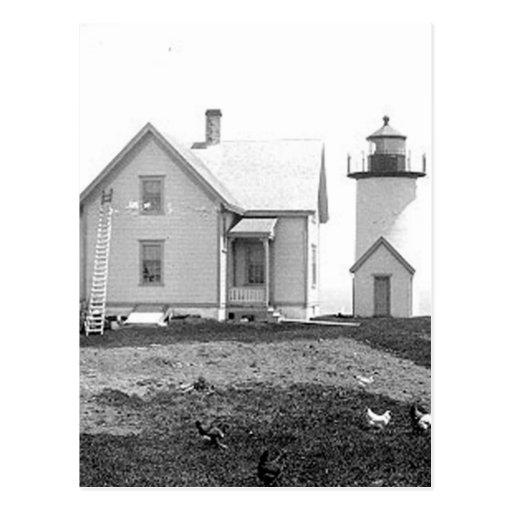 Tarpaulin Cove Lighthouse Postcard