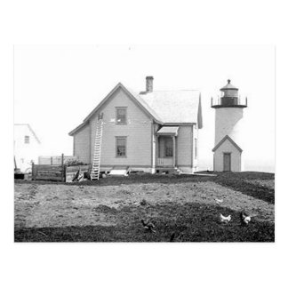 Tarpaulin Cove Lighthouse Postcard