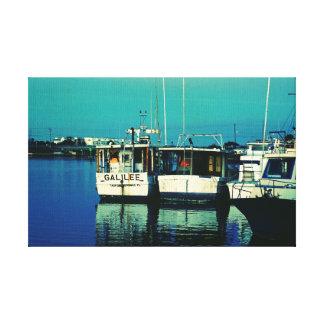 Tarpon Dock Canvas Print