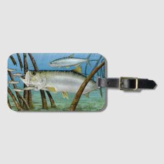 Tarpon in Habitat Luggage Tag