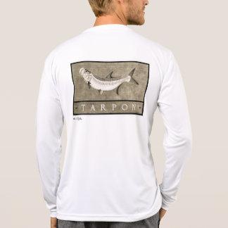 Tarpon Men s Vintage Black White Apparel T-shirts