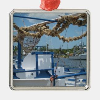 Tarpon Springs Sponge Boat Ornament