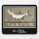 Tarpon Vintage Black & White Mouse Pads