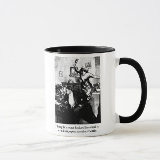Tarquin and the Argument Mug