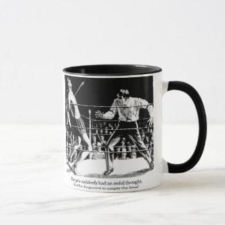 Tarquin and the bins mug