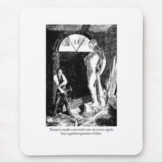 Tarquin and the Garden Gnome Mousepads