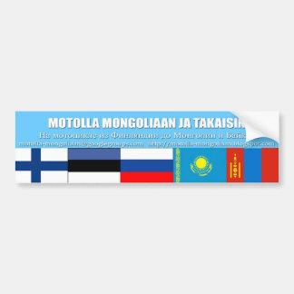 tarra Mongolia Bumper Sticker