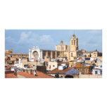 Tarragona cathedral personalized photo card