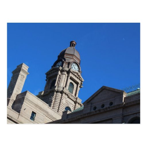 Tarrant County Courthouse in Fort Worth Texas Postcards
