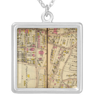 Tarrytown, New York 4 Silver Plated Necklace