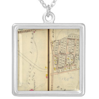 Tarrytown, New York 5 Silver Plated Necklace