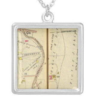 Tarrytown, New York 6 Silver Plated Necklace