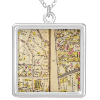 Tarrytown, New York 7 Silver Plated Necklace