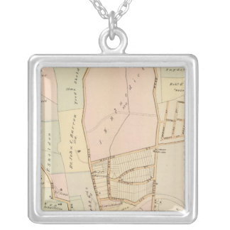 Tarrytown, New York Silver Plated Necklace