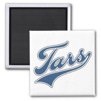 Tars Script Square Magnet