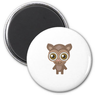 Tarsier - My Conservation Park 6 Cm Round Magnet