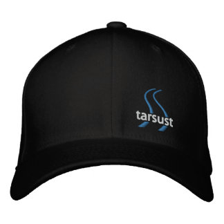 tarsust   flex fit   dark embroidered hat