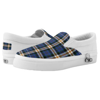 Tartan Blue Printed Shoes