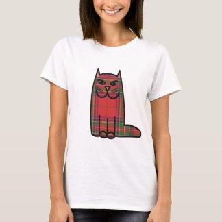 Tartan Cat T-Shirt