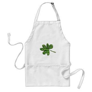 Tartan clover standard apron