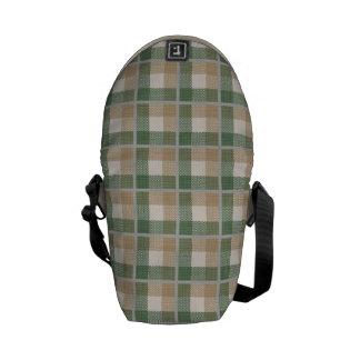Tartan Courier Bags