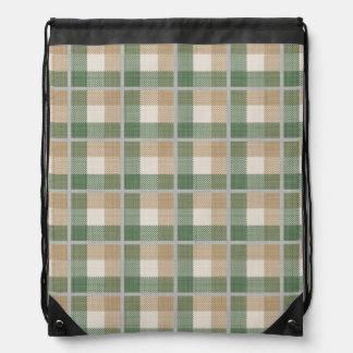 Tartan Drawstring Bags