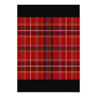 Tartan Fabric Texture Card
