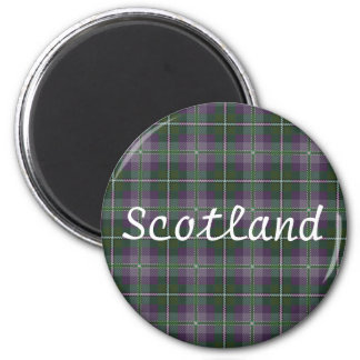Tartan Gift Magnet -- Souvenir of Scotland