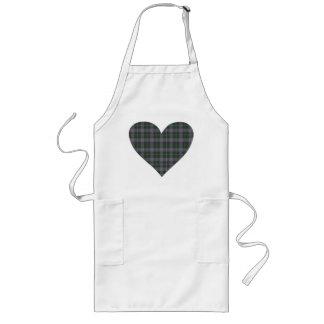Tartan Heart Design Apron