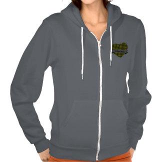 Tartan Hearts Highland Dance hoodie
