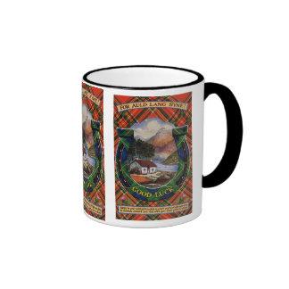 Tartan Mug, Auld Lang Syne
