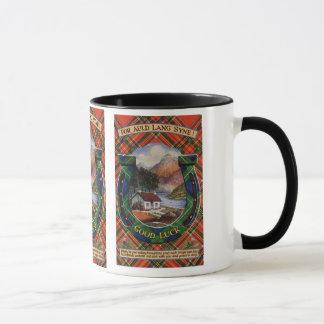 Tartan Mug, Auld Lang Syne Mug