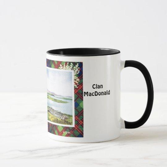 Tartan Mug, Clan  MacDonald, Mug