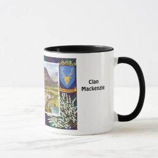 Tartan Mug, Clan  Mackenzie, Mug