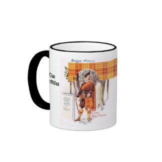 Tartan Mug, Clan  MacMillan Ringer Mug