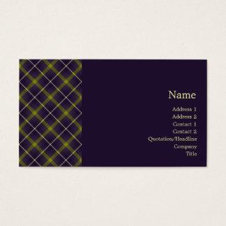 Tartan No. 0019 Business Card
