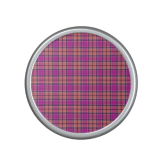 Tartan Pattern Modern Fabric Effect – Pi Bluetooth Speaker