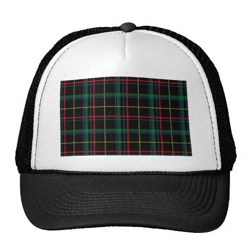Tartan Plaid Masculine Trucker Hats