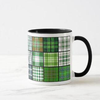 Tartan Plaid Patchwork Mug