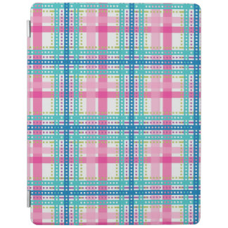 Tartan, plaid pattern iPad cover