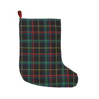 Tartan Plaid Pattern Large Christmas Stocking