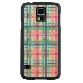 Tartan, plaid pattern maple galaxy s5 case