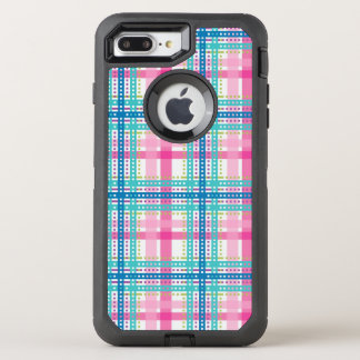 Tartan, plaid pattern OtterBox defender iPhone 8 plus/7 plus case