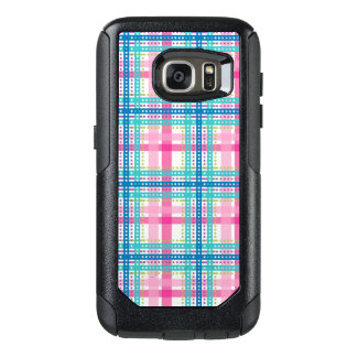 Tartan, plaid pattern OtterBox samsung galaxy s7 case